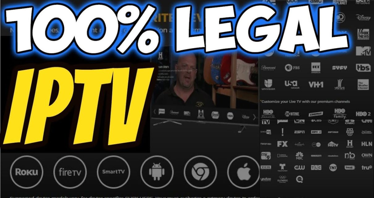 🔴AMAZING IPTV 100% LEGAL WITH EPG VOD & DVR Firestick & Android